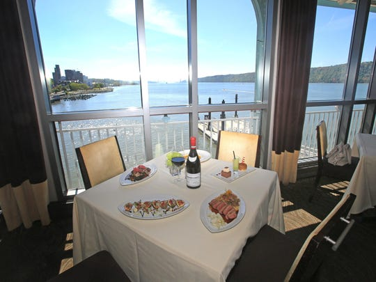 Xaviars X2O in Yonkers offers panoramic views of the Hudson river.