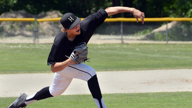 Howell's Sam Weatherly was chosen in the 27th round of the Major League Baseball draft by the Toronto Blue Jays.