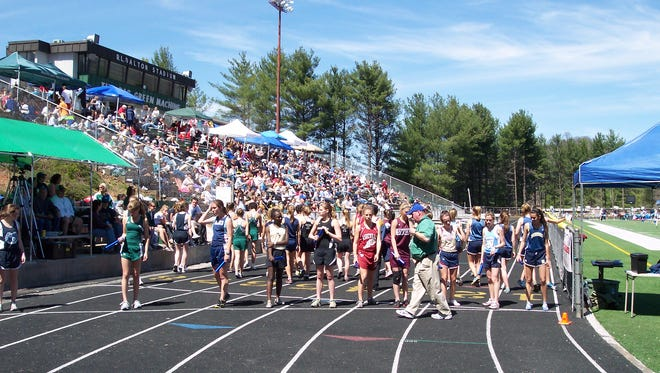 The Blue Ridge Classic track meet is scheduled for Saturday at Reynolds.