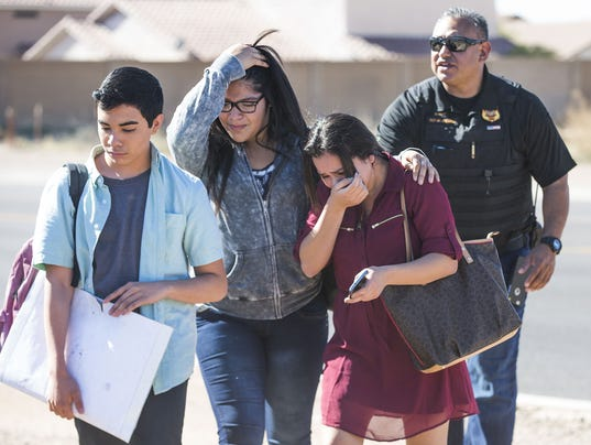 Glendale high school shooting