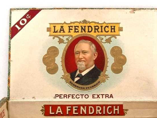 A La Fendrich cigar box.