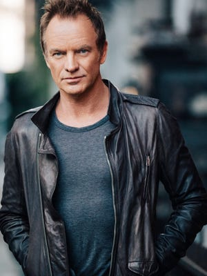 Sting, 65, is back with his first pop/rock album in more than a decade, '57th & 9th.'