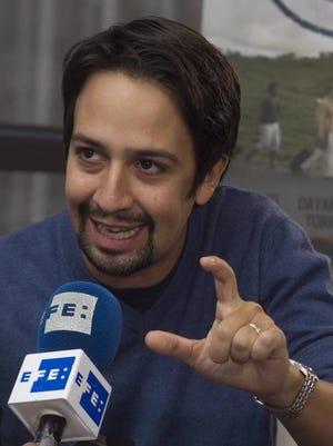 Imagen de archivo del actor Lin-Manuel Miranda.