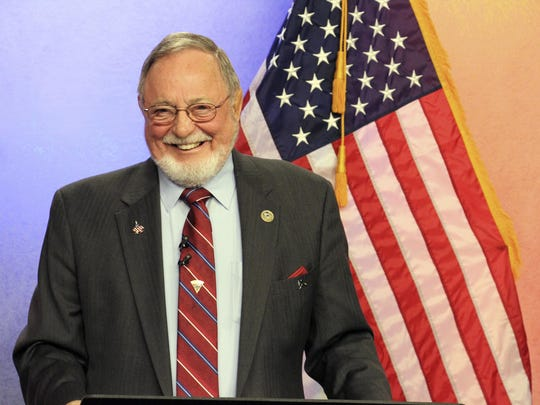 In this Oct. 26, 2018, file photo, U.S. Rep. Don Young,