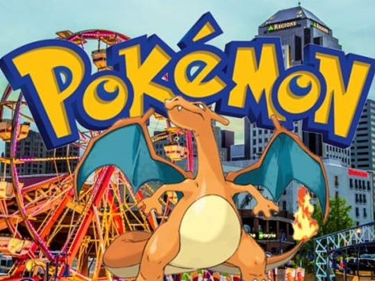 Downtown Shreveport is filled with PokeStops and gyms and all you have to do to be part of the worldwide phenomenon is download the Nintendo app to your smartphone
