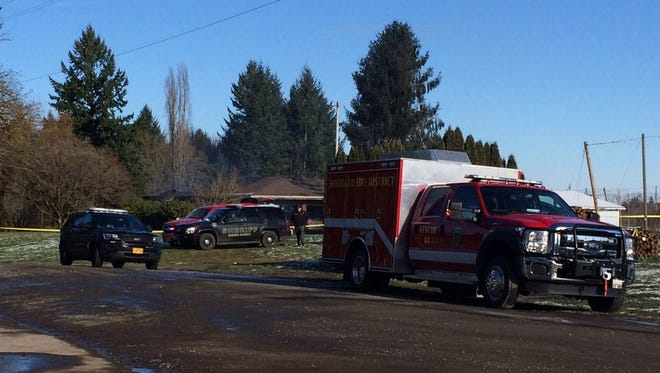 Marion County Sheriff's office is leading the investigation after a fire near Hubbard where one person was found dead.
