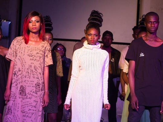 Models wearing VonRay on the runway for The Eleventh