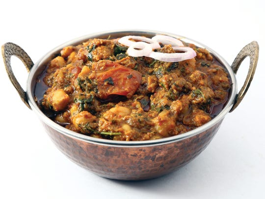 "Trimurti Curry from ""Sutras of Indian Cooking"" is a"