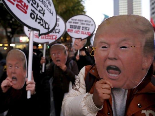 South Korea Trump