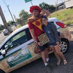 Why this guy picks up his girlfriend from school in a themed car each day