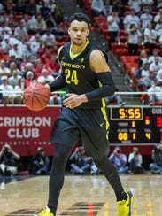 Oregon's Dillon Brooks sees himself as a versatile