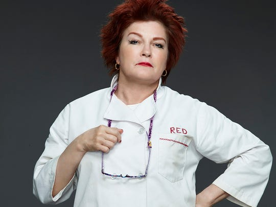 """Red (Kate Mulgrew) has been known to smoke on Netflix's """"Orange Is the New Black."""""""