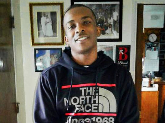 Stephon Clark, 22, died in a hail of police gunfire in the backyard of his grandmother Sequita Thompson's home in Sacramento, Calif.