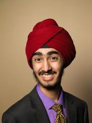 J.J. Kapur, Valley High School senior