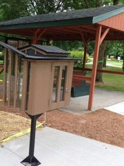Latest Little Free Library is designed to look like