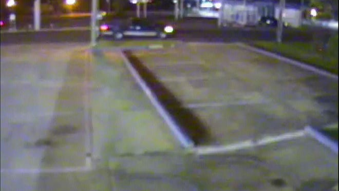 Hattiesburg police are searching for a blue-over-gray 2004 Ford F-150 in connection with an April 12 hit-and-run incident.