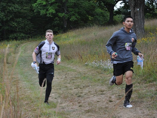 West Point cadets race at Ward Pound Ridge