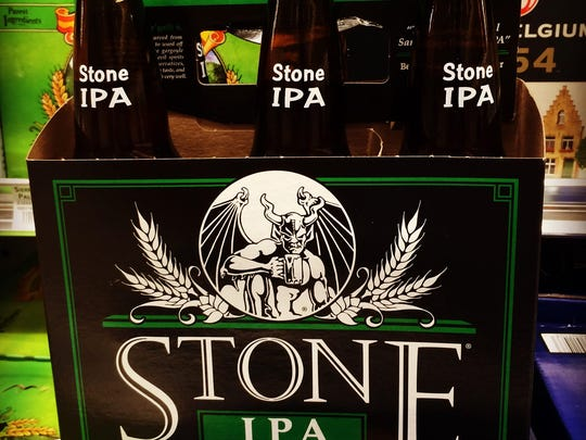 Stone Brewing IPA pours a nice, golden hued pint with citrusy, piney hop flavors and aromas, yet it is all perfectly balanced by a subtle malt character.