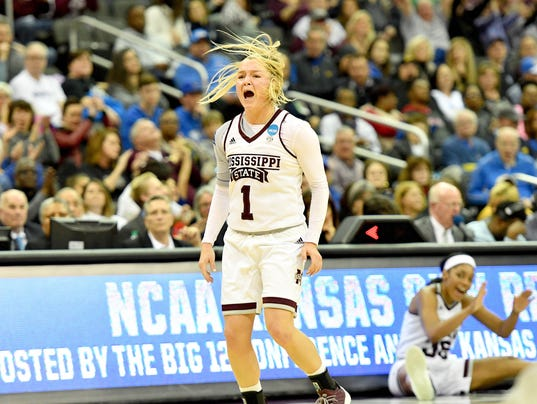 NCAA Womens Basketball: NCAA Tournament-Kansas City Regional-Mississippi State vs UCLA