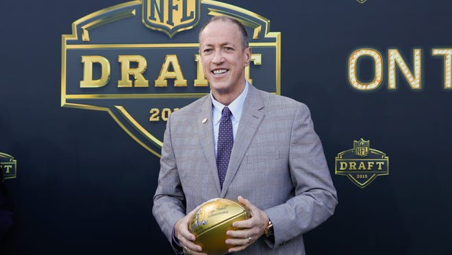 Jim Kelly at the 2015 NFL Draft