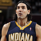 Scola had never missed a game in his two years with the Pacers -- in fact, he hadn't missed a game since April 13, 2011 until Thursday night