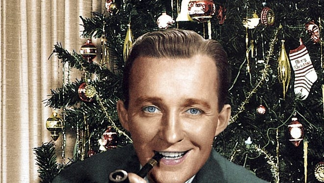 Cover art for the Christmas music CD 'Bing Crosby: The Voice of Christmas.'