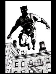 An image from Black Panther issue No. 525, drawn by comic book artist Shawn Martinbrough