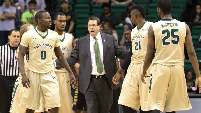 "UAB is led by head coach Jerod Haase, who played against Iowa State coach Fred Hoiberg while Haase was at Kansas. ""Had some really good battles with him,"" Hoiberg said of Haase. ""He was very difficult to guard when he played at Kansas. I know that team is very well-coached and well-prepared."""
