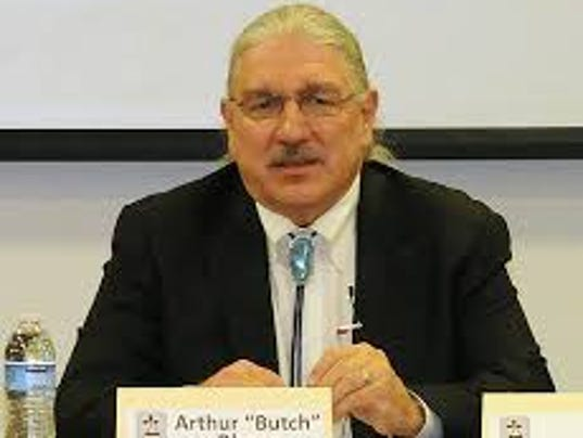 "arthur ""butch"" blazer"