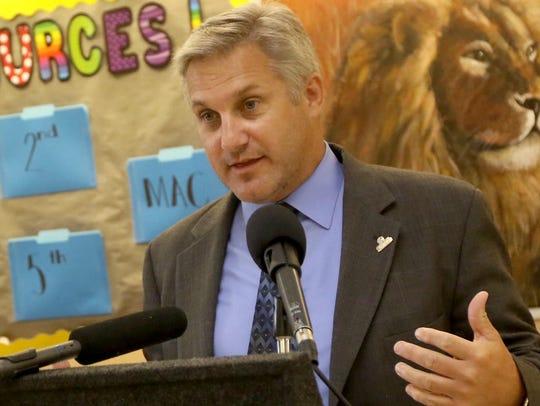 Capital School District Superintendent Dan Shelton