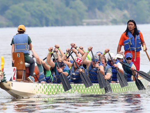 The 4th Annual Dutchess Dragon Boat Race and Festival