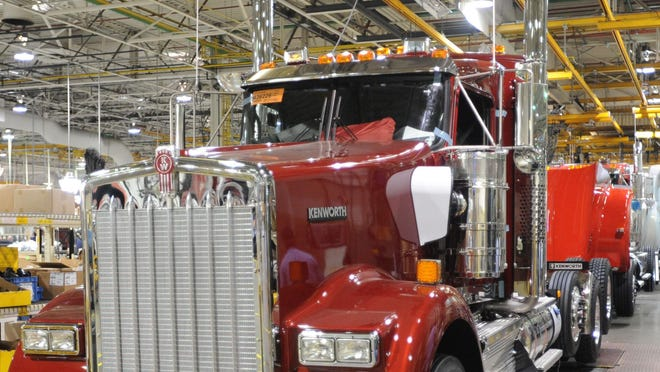 Kenworth Truck Co. is seeking a 10-year, 60 percent property tax abatement on a new truck cab painting facility it hopes to have in operation sometime during 2021.