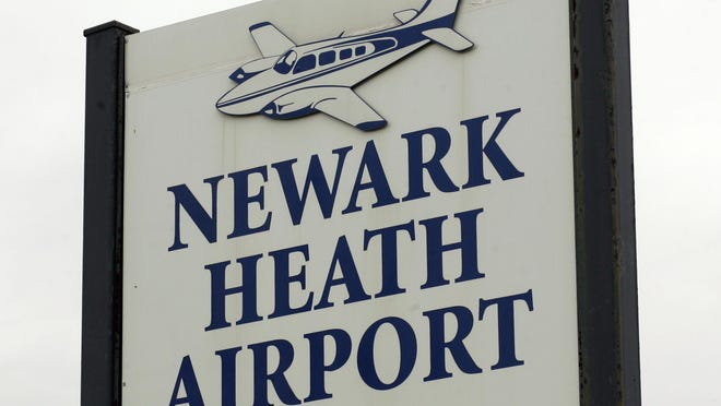 stock art Newark Heath Airport
