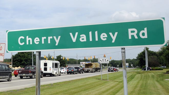The Cherry Valley Road-Ohio 16 interchange is congested every evening.