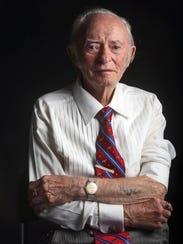 Jacob Breitstein, 93, was 17 when he arrived at Auschwitz