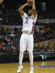 During the 2015 MEAC Men's Basketball Tournament game