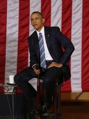 President Obama at the entrepreneurship summit in Havana,
