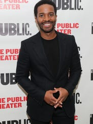 "Andre Holland attends the ""Head Of Passes"" opening"