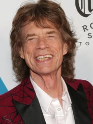 Mick Jagger attends The Rolling Stones Exhibitionism