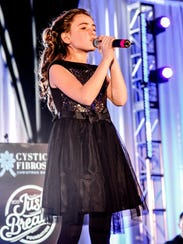 Brianna Collichio, 11, of Spencerport has performed