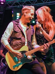 Local rock band Road Trip kept fans happy in the side