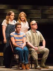 Katherine Duffy (back left), Cory Goodrich, Henry McGinniss