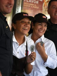 "Dunkin Donuts employees Yury and Yolanda are ""deputized"""
