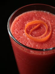 Icy Carrot Cooler smoothie.