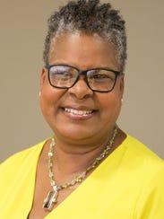 Des Moines School Board Chairwoman Teree Caldwell-Johnson.