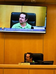 Carlos Portu chairs the meeting. Marco Island's Parks