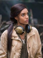 Maisie Richardson-Sellers as Amaya Jiwe/Vixen on 'DC's