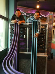 Kids can learn about physics through play at Discovery