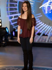 "Auditions for Mara Justine on ""American Idol."""