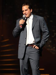Comic Nick DiPaolo performs at Tarrytown Music Hall,
